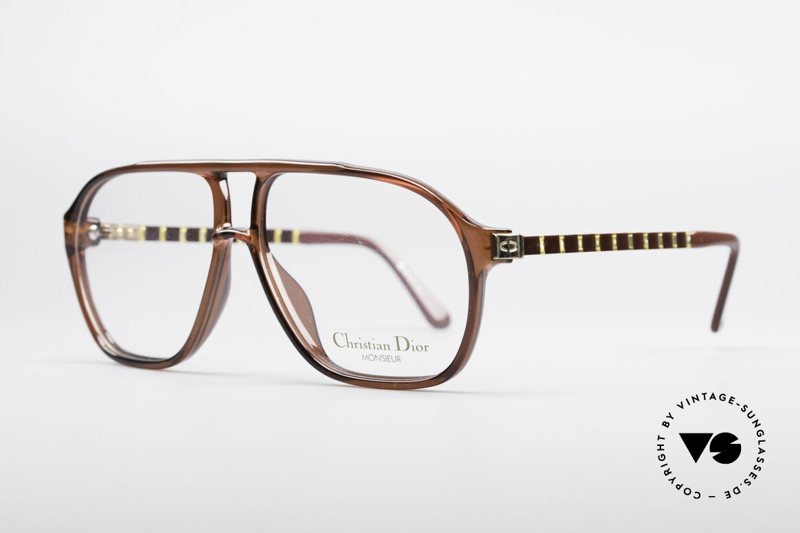 Christian Dior 2417 80's Men's Glasses Monsieur, really, a true alternative to the common Aviator-style, Made for Men