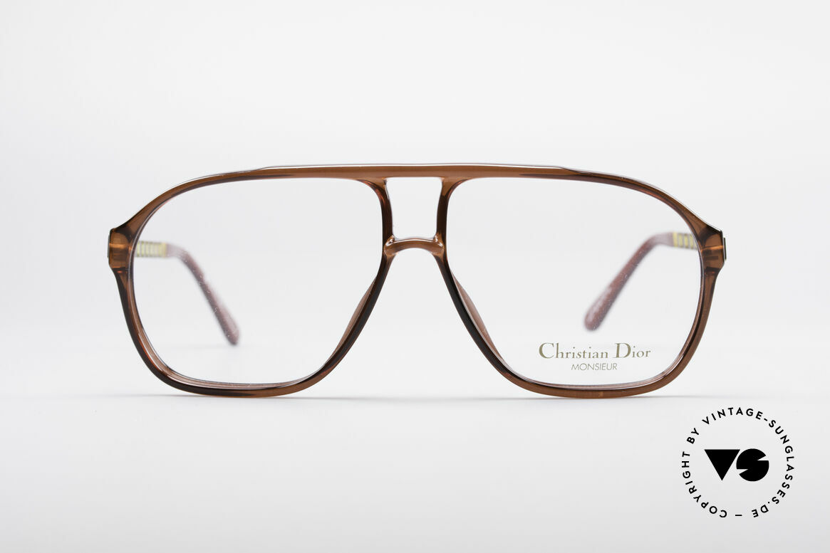 Christian Dior 2417 80's Men's Glasses Monsieur, elegant frame and coloring for the real gentleman, Made for Men