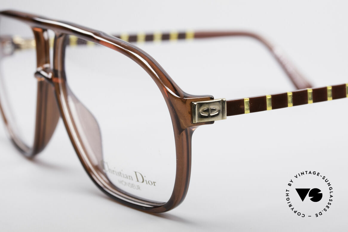 Christian Dior 2417 80's Men's Glasses Monsieur, highest comfort thanks to flexible -Flexidée- temples, Made for Men