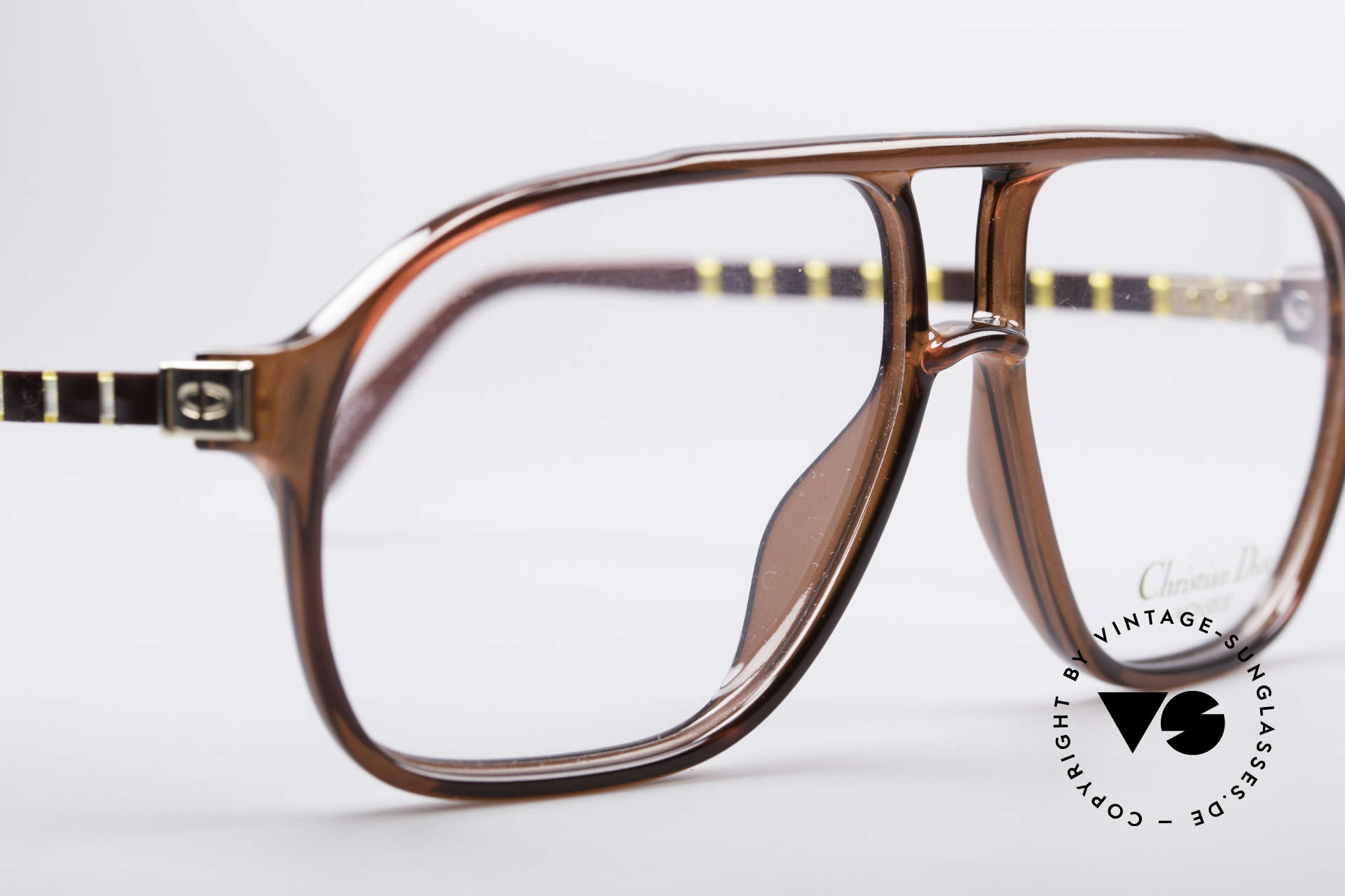 Christian Dior 2417 80's Men's Glasses Monsieur, never worn (like all our rare vintage Dior eyeglasses), Made for Men