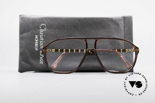 Christian Dior 2417 80's Men's Glasses Monsieur, NO RETRO Eyewear, but a real 30 years old original, Made for Men