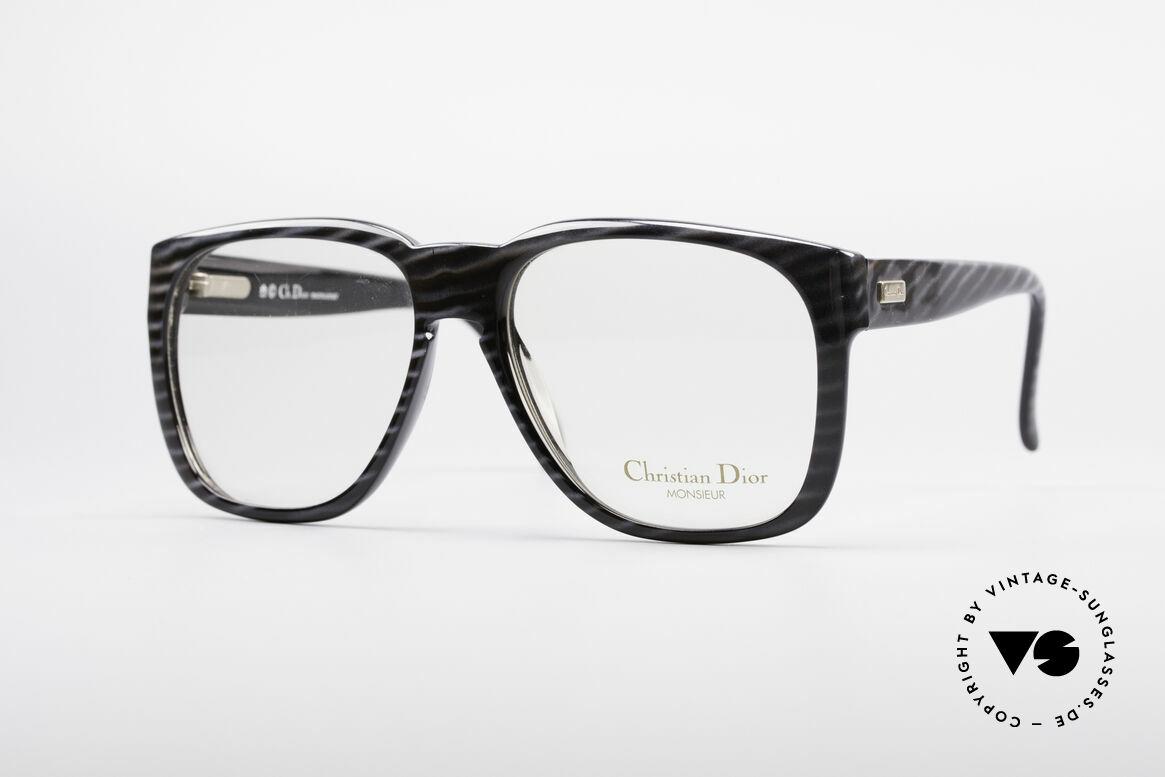 Christian Dior 2295 80's Designer Frame, massive Christian Dior designer glasses from 1985, Made for Men