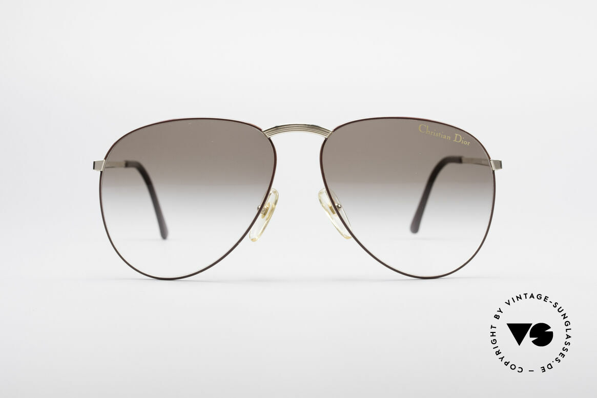 Christian Dior 2252 Rare 80's Shades, sophisticated modified pilot's sunglasses from 1983, Made for Men