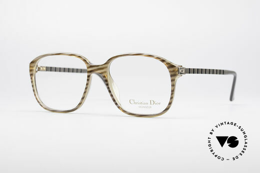 Christian Dior 2454 80's Monsieur Series Details