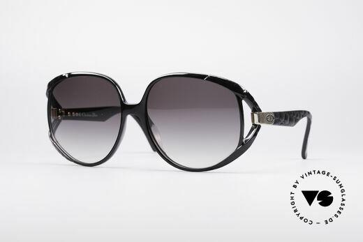 Christian Dior 2320 80's XL Sunglasses Details