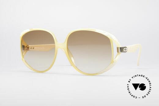 Christian Dior 2320 Rare 80's Ladies XL Sunglasses Details
