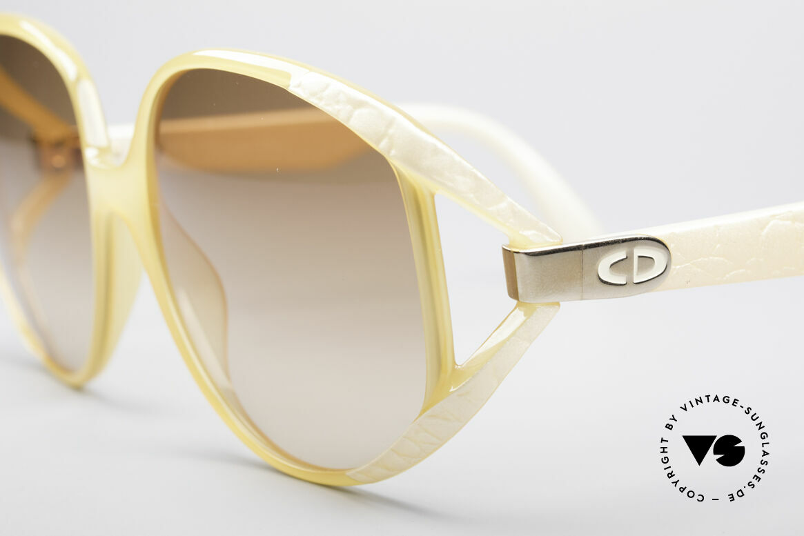 Christian Dior 2320 80's XL Sunglasses, never worn (like all our vintage Dior 80's eyewear), Made for Women