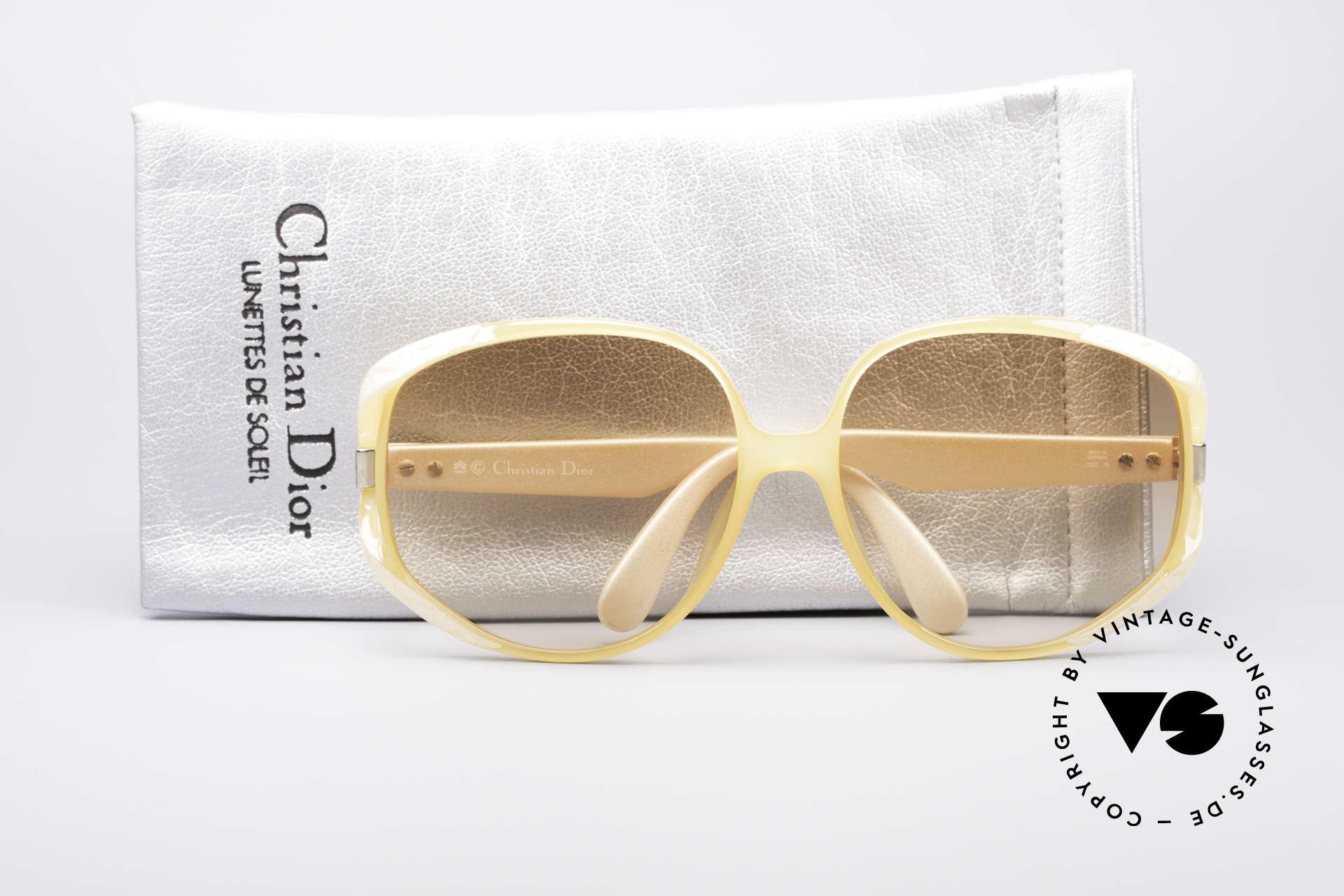 Christian Dior 2320 Rare 80's Ladies XL Sunglasses, a true eye-catcher & authentic Dior designer piece, Made for Women