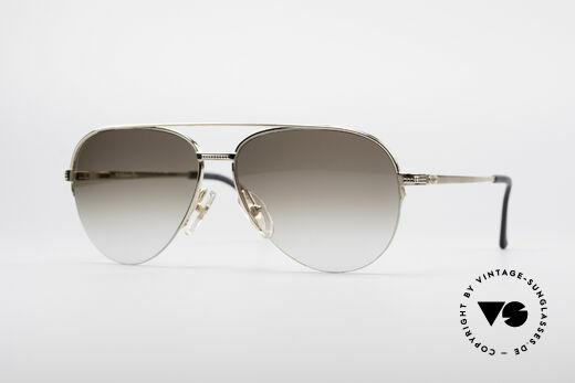 Christian Dior 2792 90's Aviator Frame Details