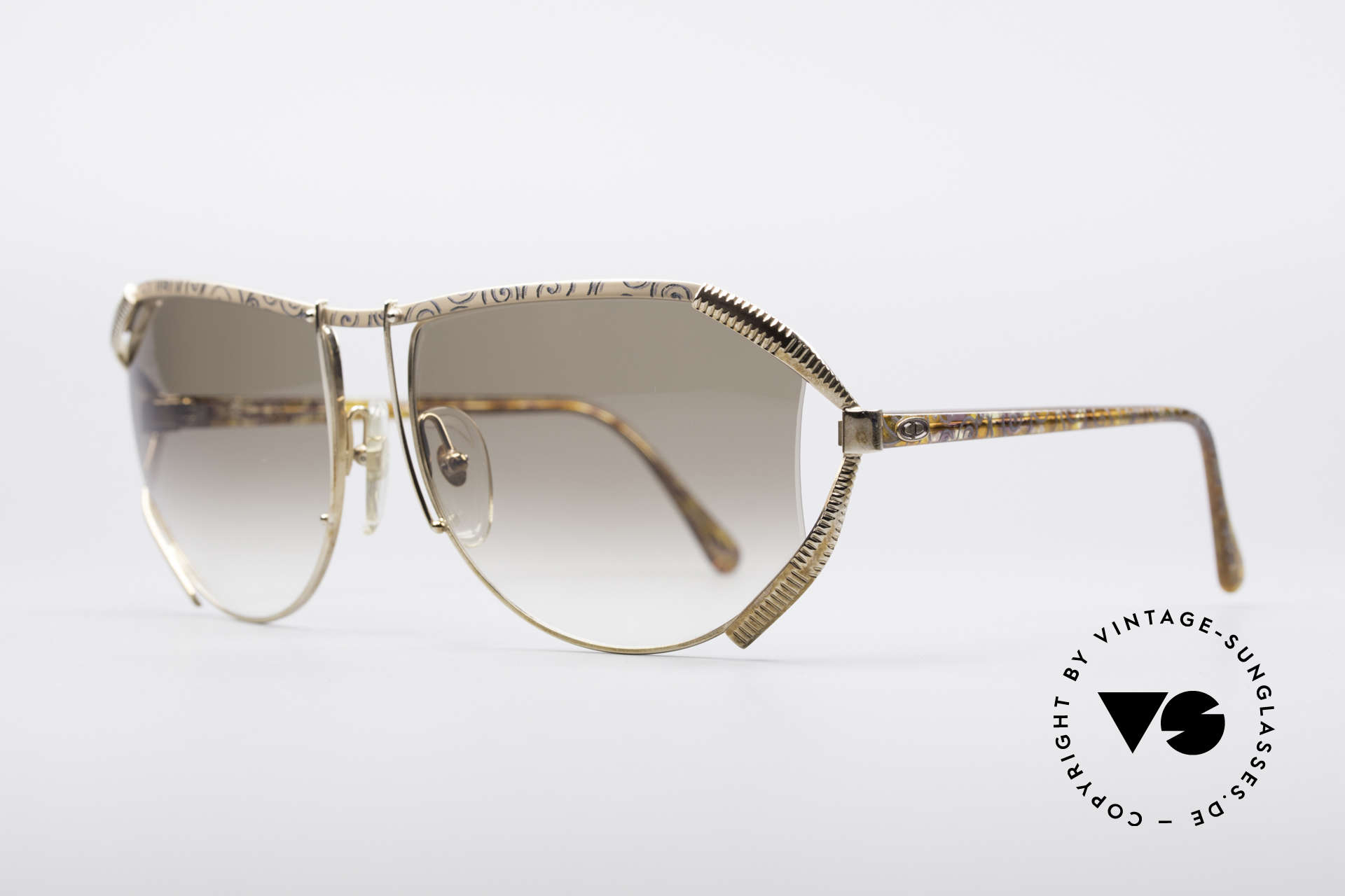Christian Dior 2609 90's Designer Shades, high-class and costly complex design; truly vintage, Made for Women