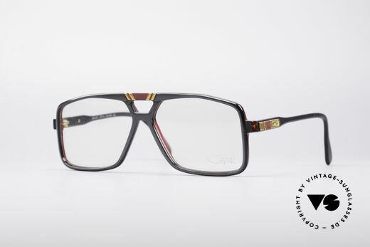 Cazal 637 80's Hip Hop Eyeglasses Details