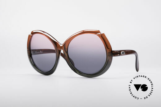 Christian Dior D11 Huge 70's Shades Details