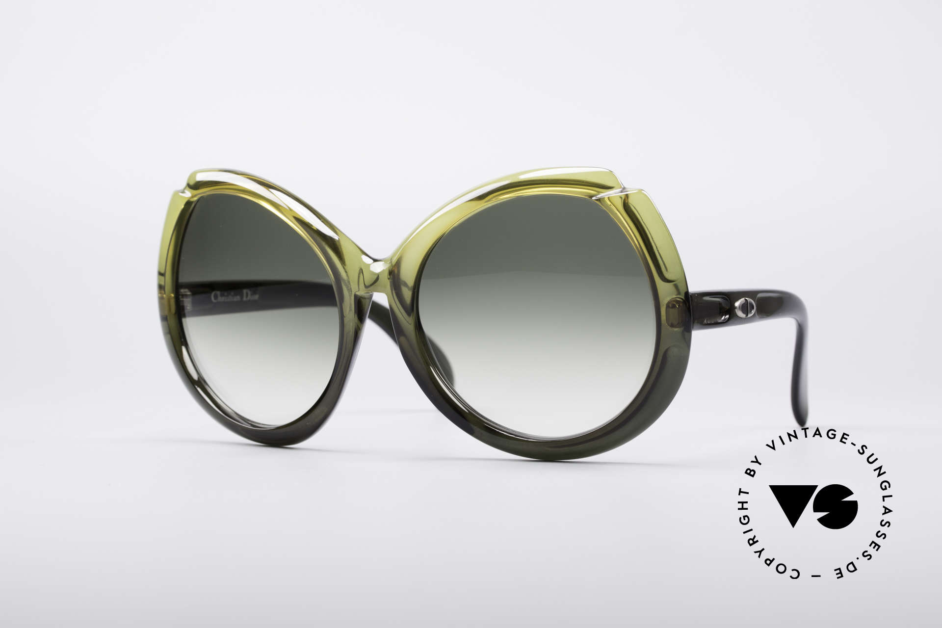 Christian Dior D11 Huge 70's Shades, Ch. Dior XXL designer sunglasses from the early 1970's, Made for Women