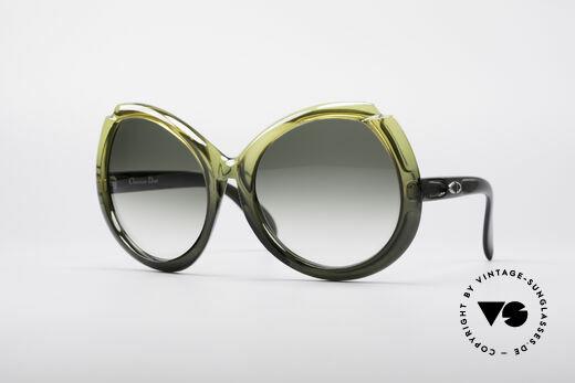 Christian Dior D11 Huge 70's Shades Details