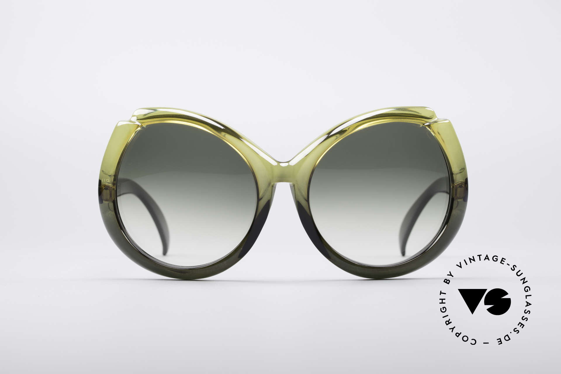 Christian Dior D11 Huge 70's Shades, one of the first sunglass' models by Christian Dior, ever, Made for Women