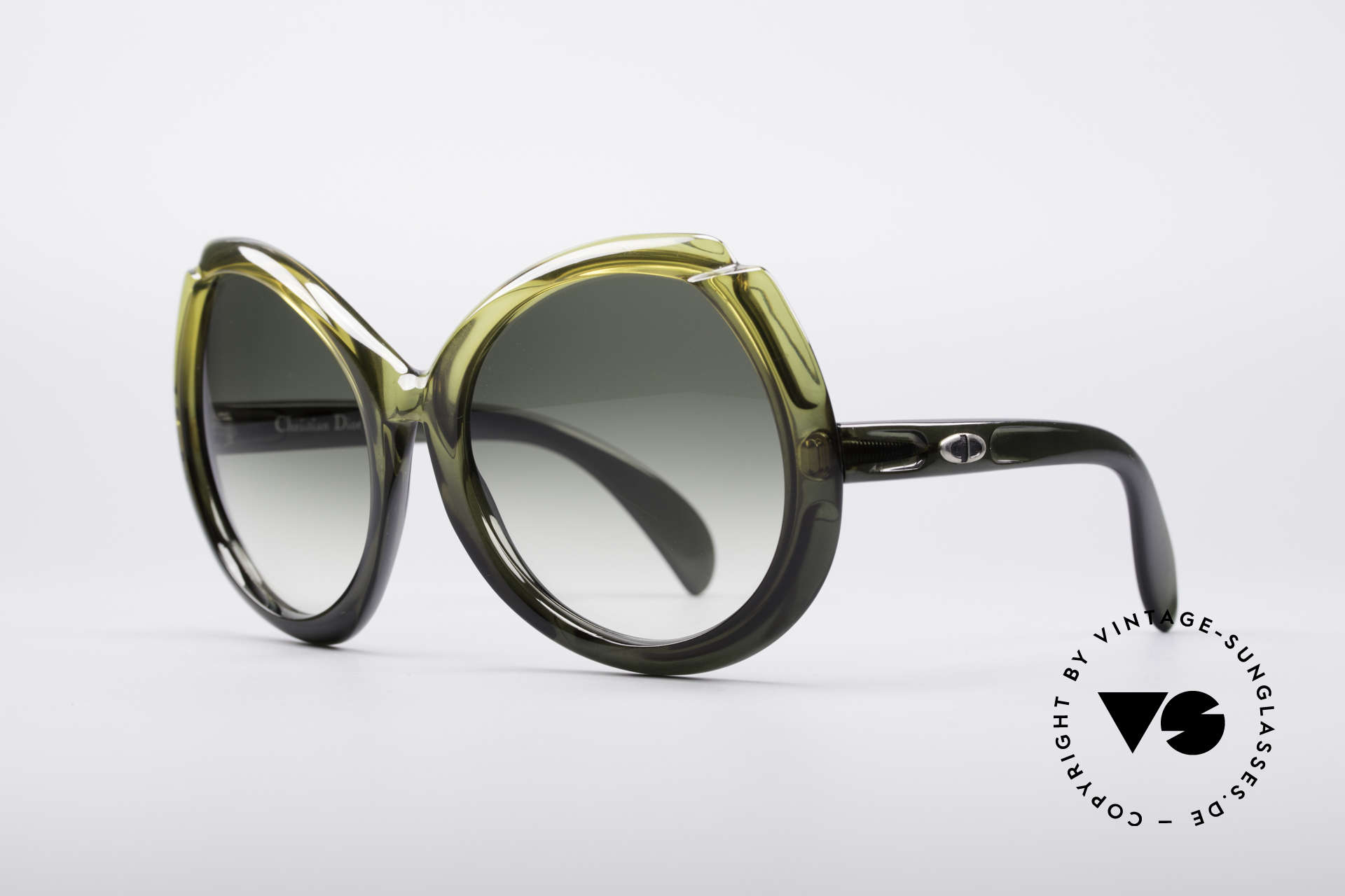 Christian Dior D11 Huge 70's Shades, HUGE size, typically 70's and a piece of fashion history, Made for Women