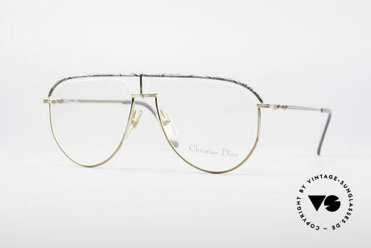 Christian Dior 2582 80's Men's Frame Details