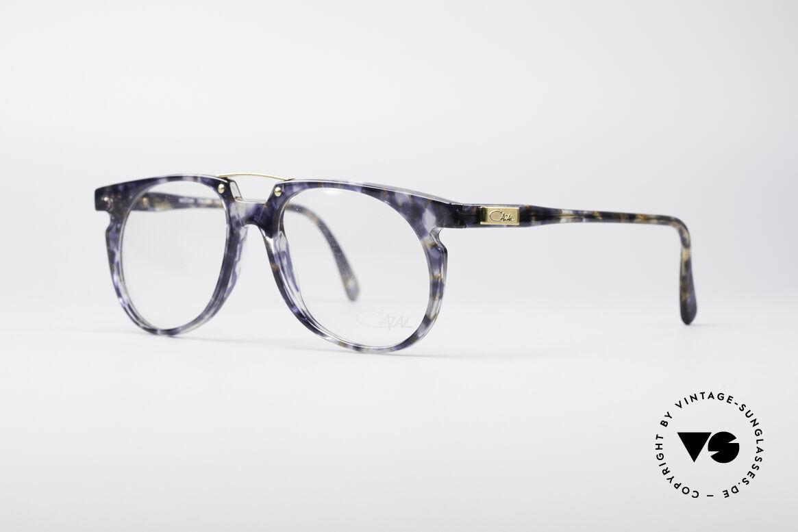 Cazal 645 Extraordinary Vintage Frame, great frame pattern (a kind of crystal-blue marbled), Made for Men