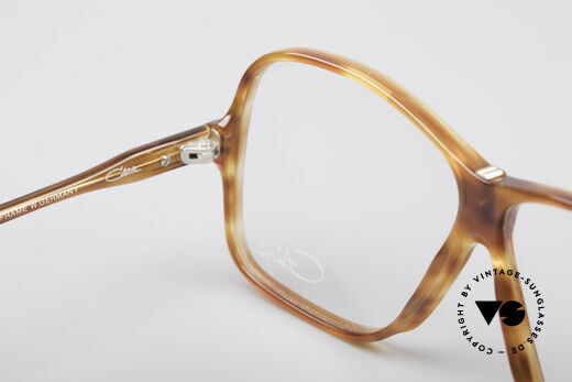 Cazal 621 West Germany Frame, orig. clear demo lenses can be replaced optionally, Made for Men