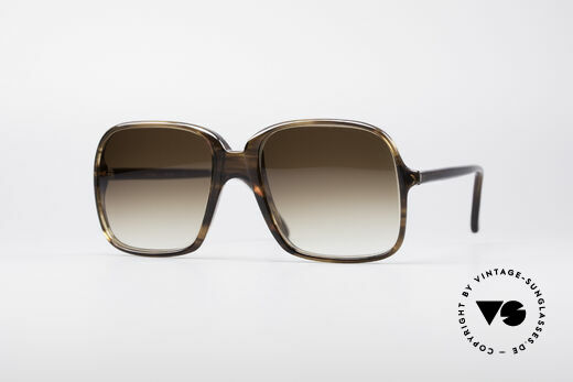 Cazal 609 Old School Sunglasses Details