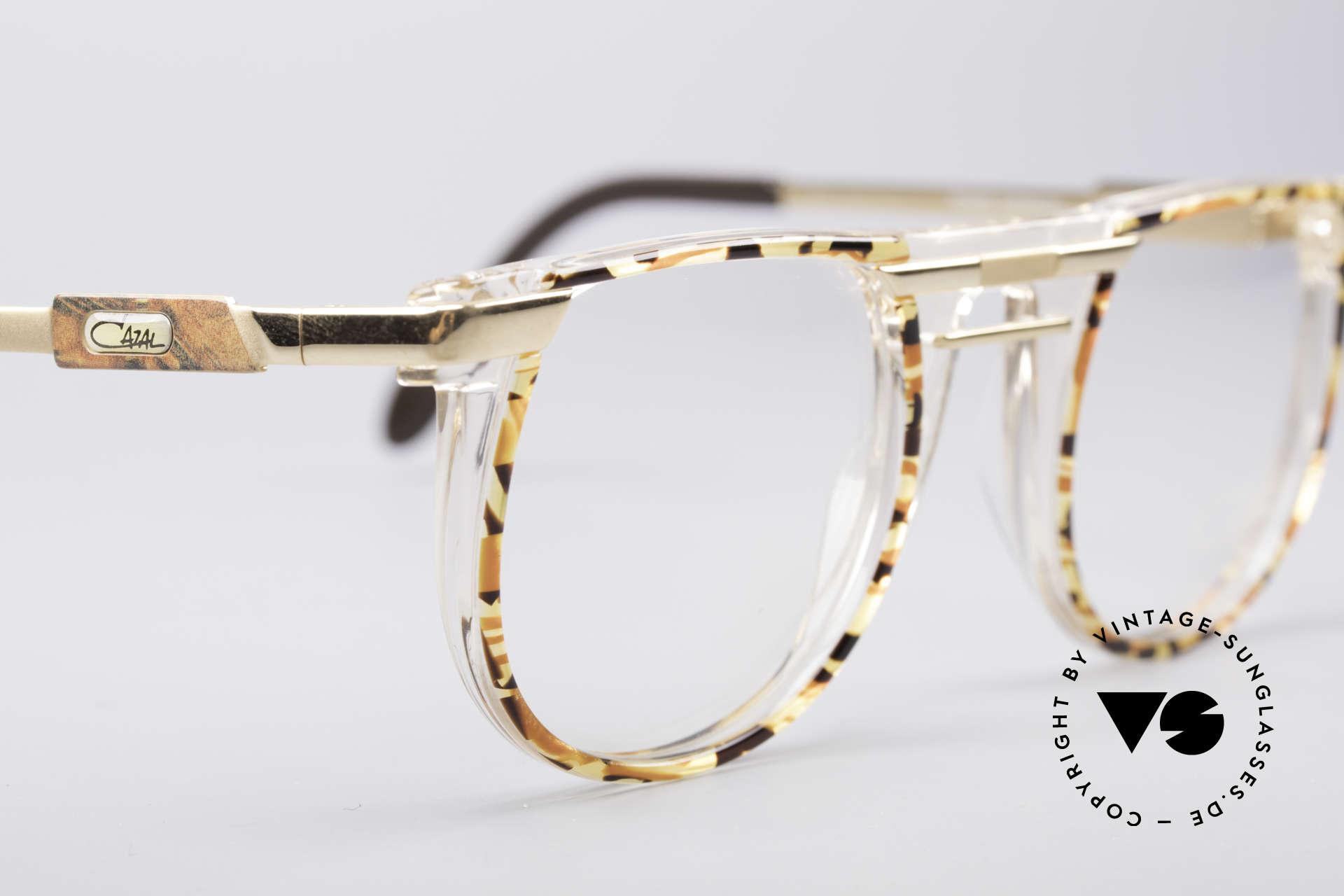 Cazal 647 90's Vintage Designer Specs, unworn, NOS (like all our vintage CAZAL eyewear), Made for Men and Women