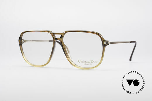 Christian Dior 2296 Vintage 80's Monsieur Series Details