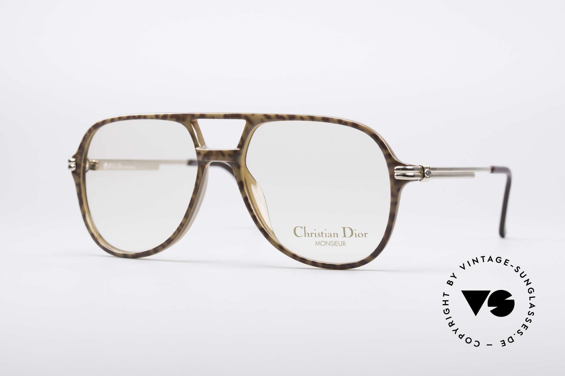 Christian Dior 2301 80's Optyl Frame Monsieur, vintage Christian Dior eyeglass-frame from 1985, Made for Men