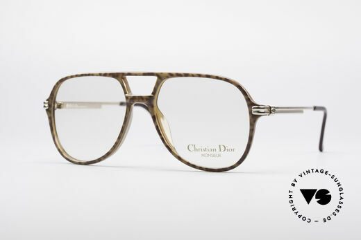 Christian Dior 2296 80's Optyl Frame Details