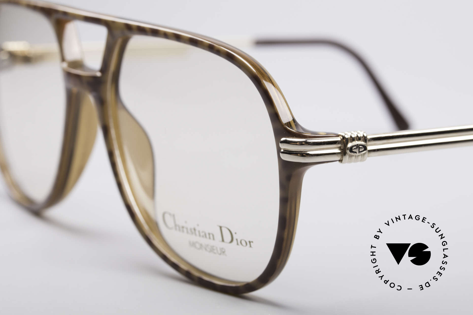 Christian Dior 2301 80's Optyl Frame Monsieur, new old stock (like all our rare vintage eyewear), Made for Men