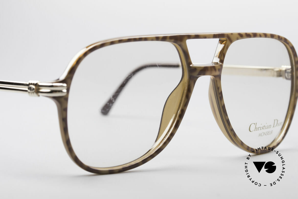 Christian Dior 2301 80's Optyl Frame Monsieur, NO retro specs, but an over 30 years old original!, Made for Men
