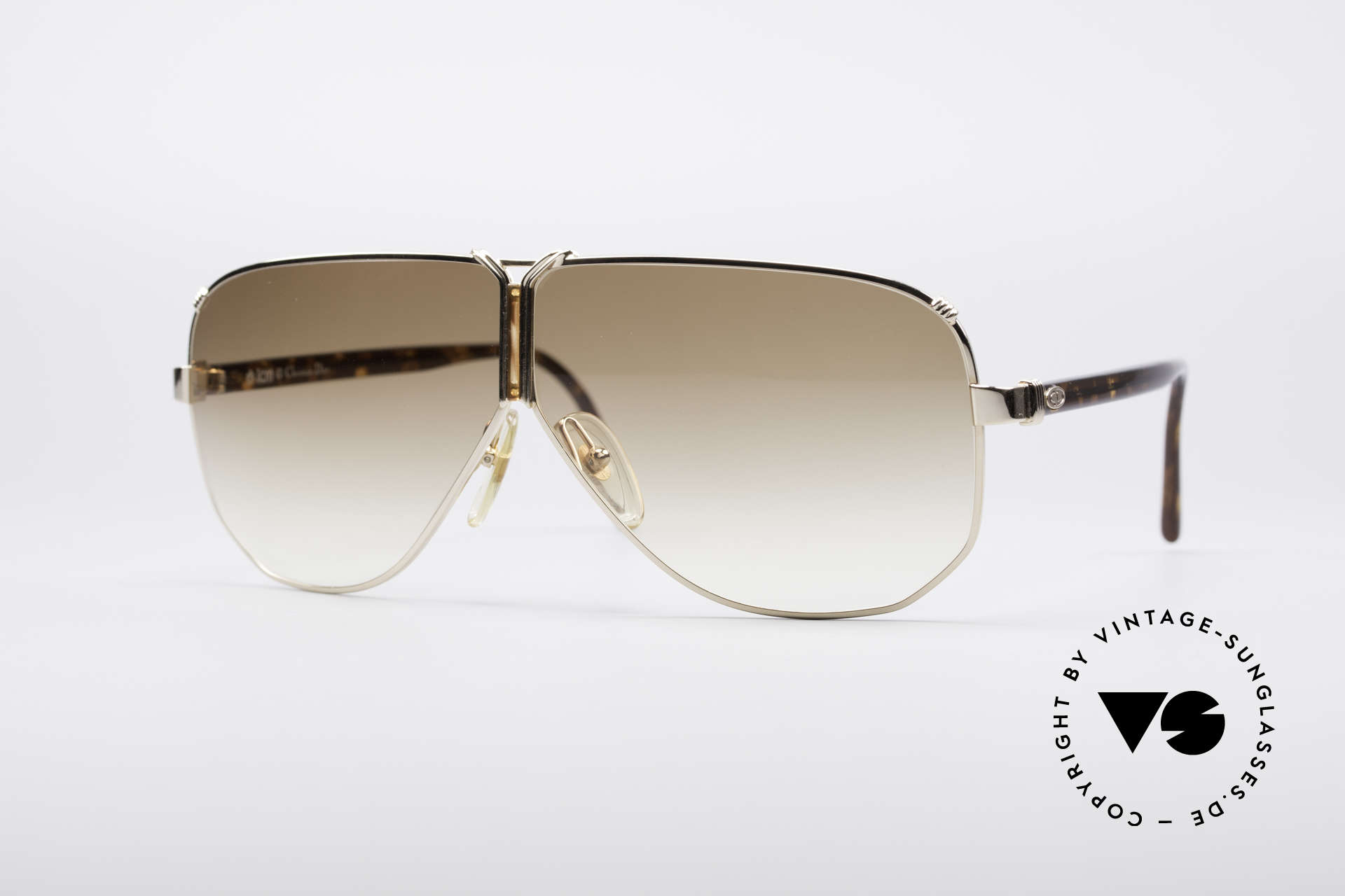 Christian Dior 2502 Panorama View Shades XXL, vintage 90's Christian Dior sunglasses; XL-oversize, Made for Men
