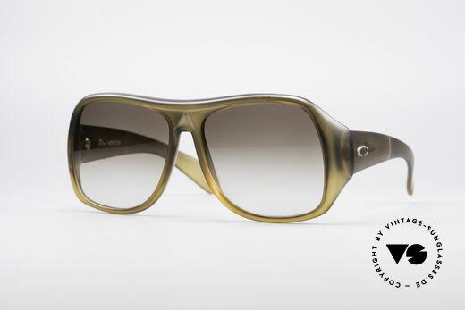 Christian Dior 2000 Monster 70's Glasses Details