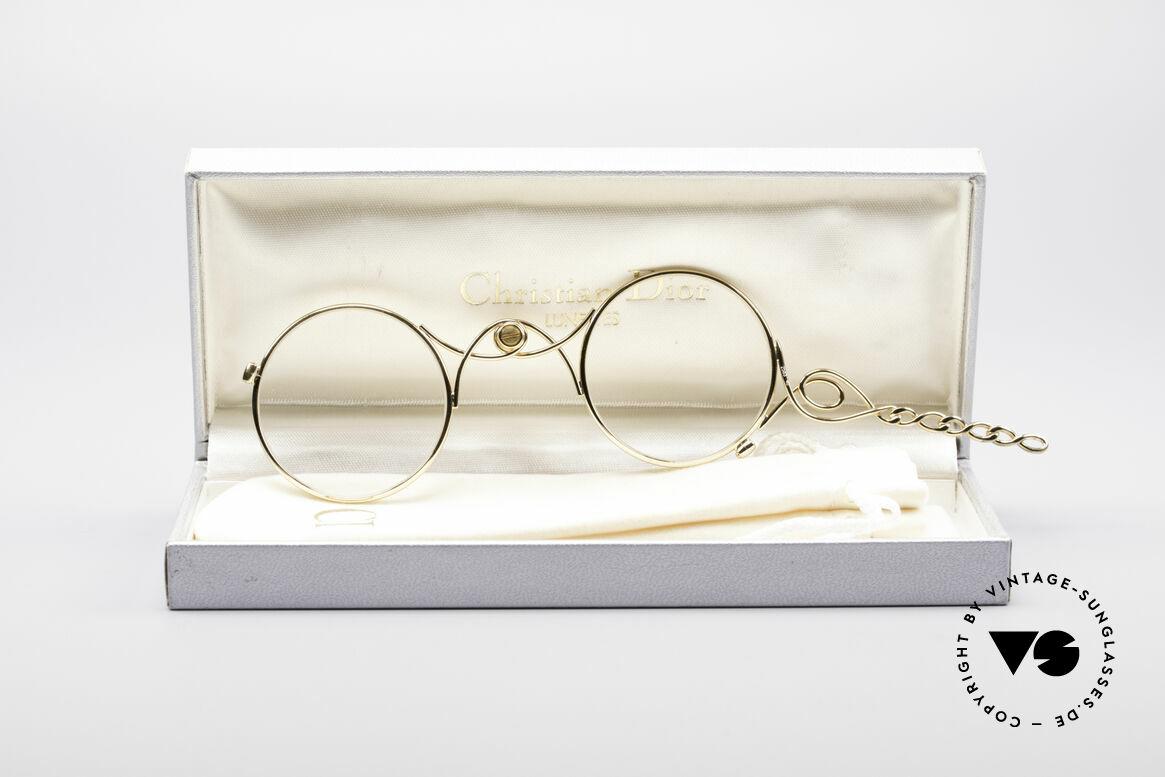 Christian Dior 2583 Lorgnon Lorgnette, original vintage C. Dior lorgnon / lorgnette of the 90's, Made for Women