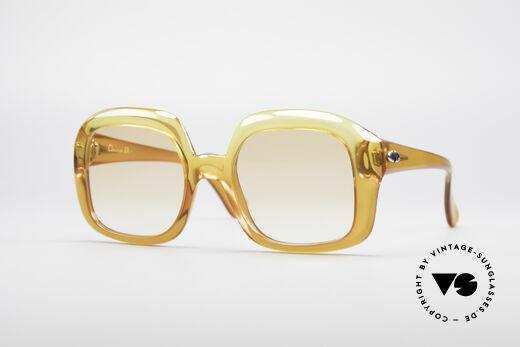 Christian Dior 1206 70's Vintage Frame Details