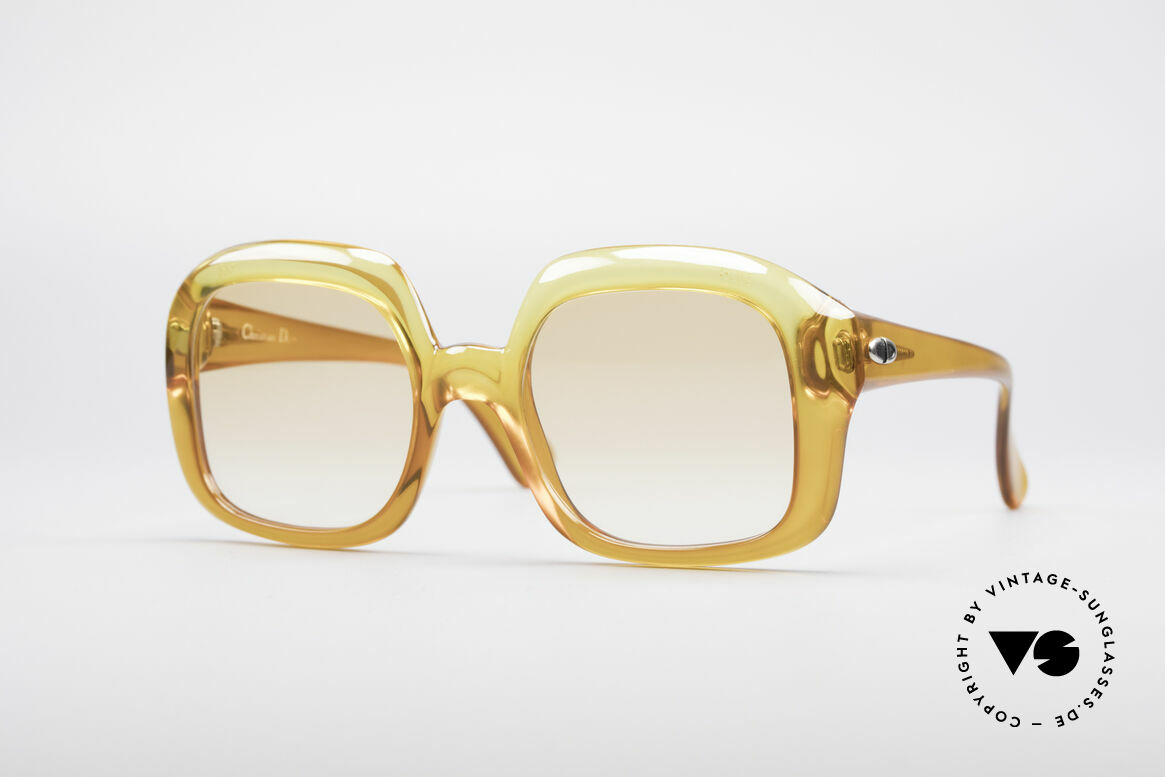 Christian Dior 1206 70's Vintage Frame, magical Christian Dior designer sunglasses of the 70's, Made for Women
