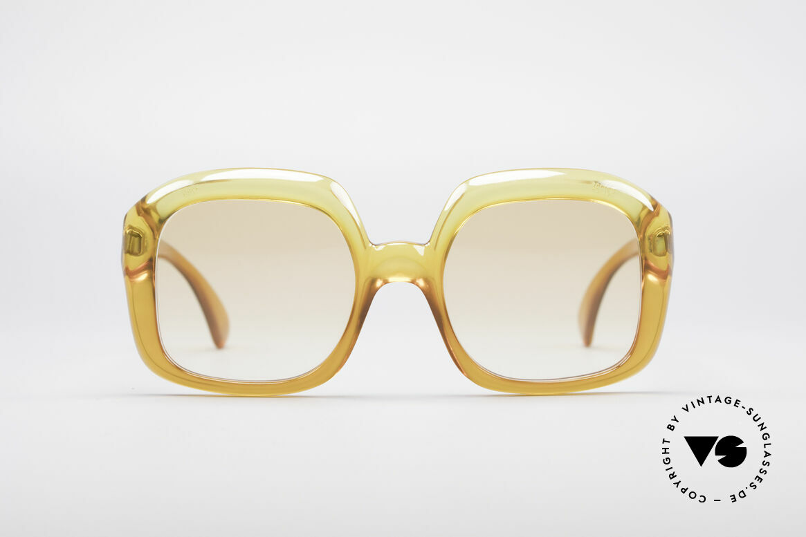 Christian Dior 1206 70's Vintage Frame, one of the first sunglass' models by Christian Dior, ever, Made for Women