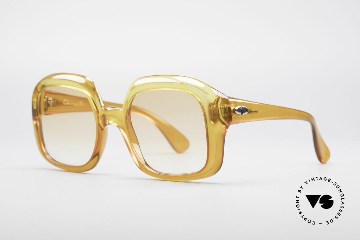 Christian Dior 1206 70's Vintage Frame, a real vintage rarity; one of a kind; a true eye-catcher!, Made for Women