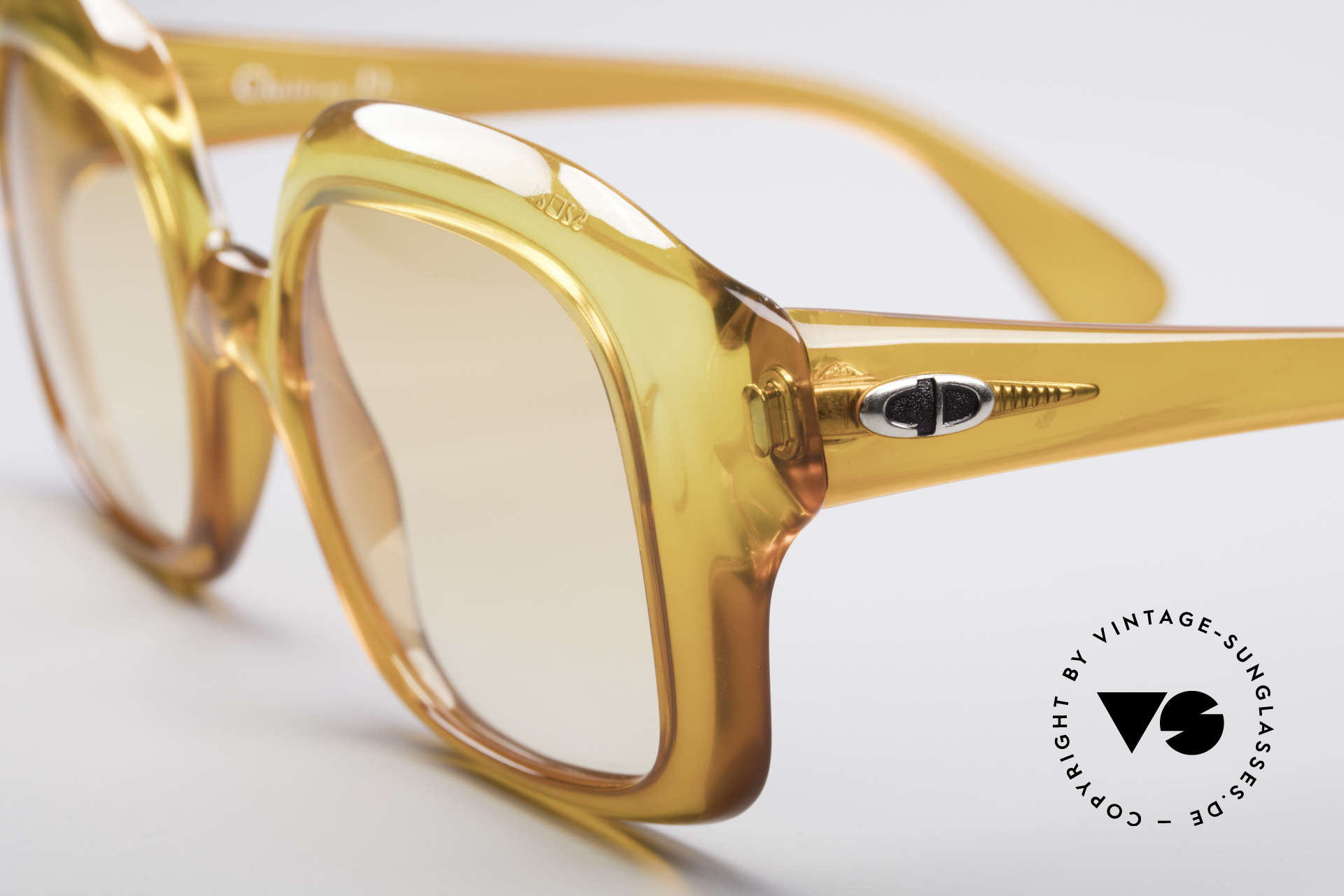 Christian Dior 1206 70's Vintage Frame, made of unbelievable Optyl material with 'mystic effect', Made for Women