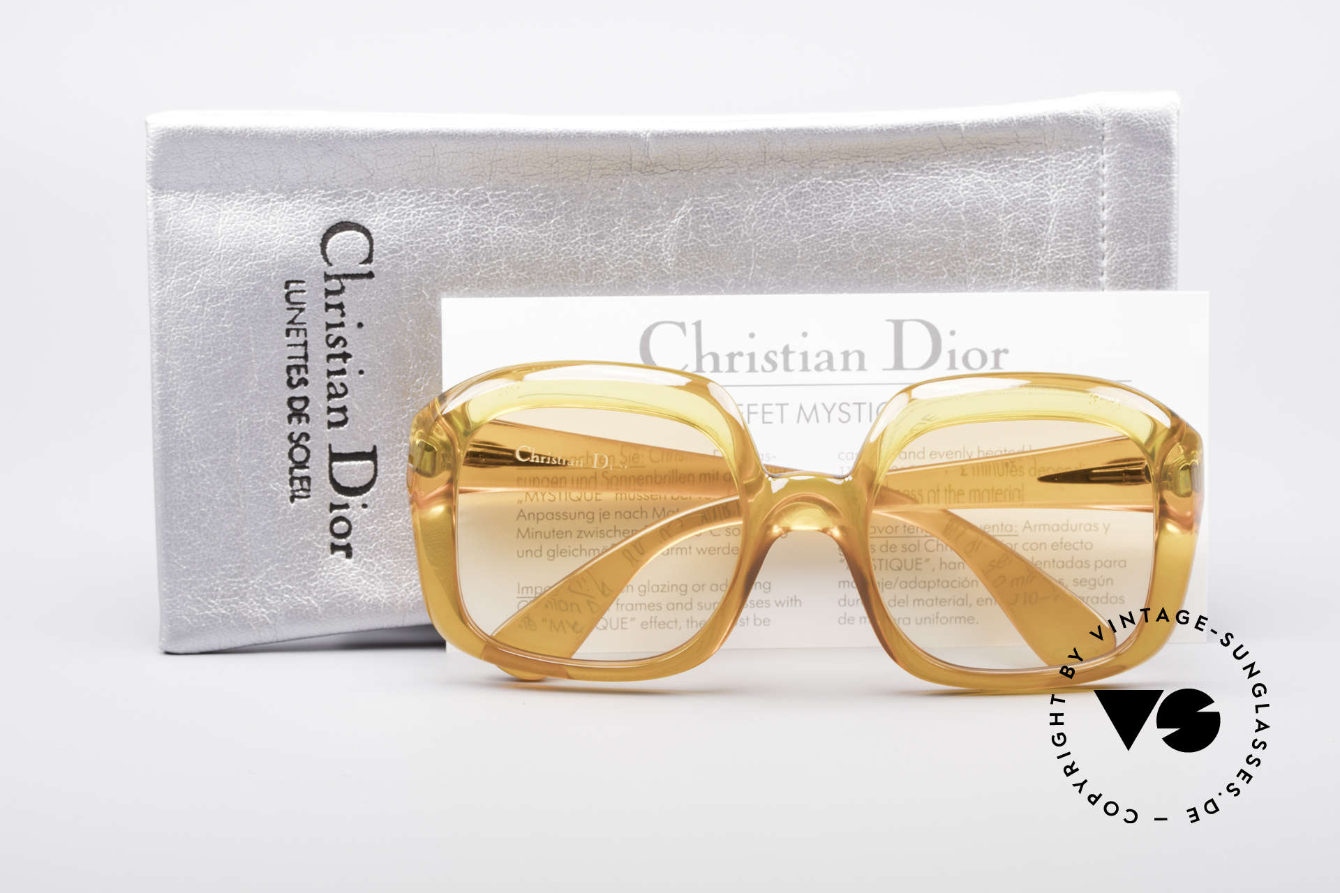Christian Dior 1206 70's Vintage Frame, typical coloring for the 1970's fashion, TRUE VINTAGE!, Made for Women
