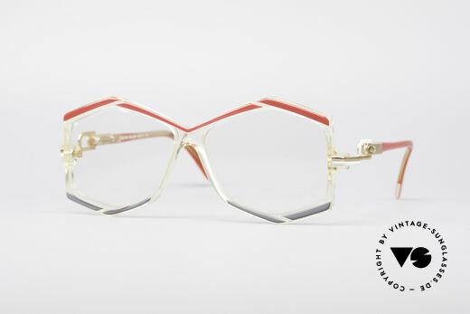Cazal 180 80's Designer Glasses Details