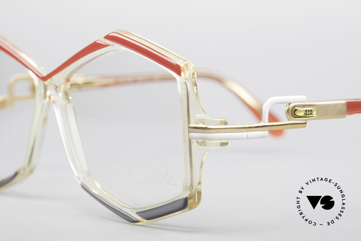 Cazal 180 80's Designer Glasses, new old stock (like all our old designer eyeglasses), Made for Women