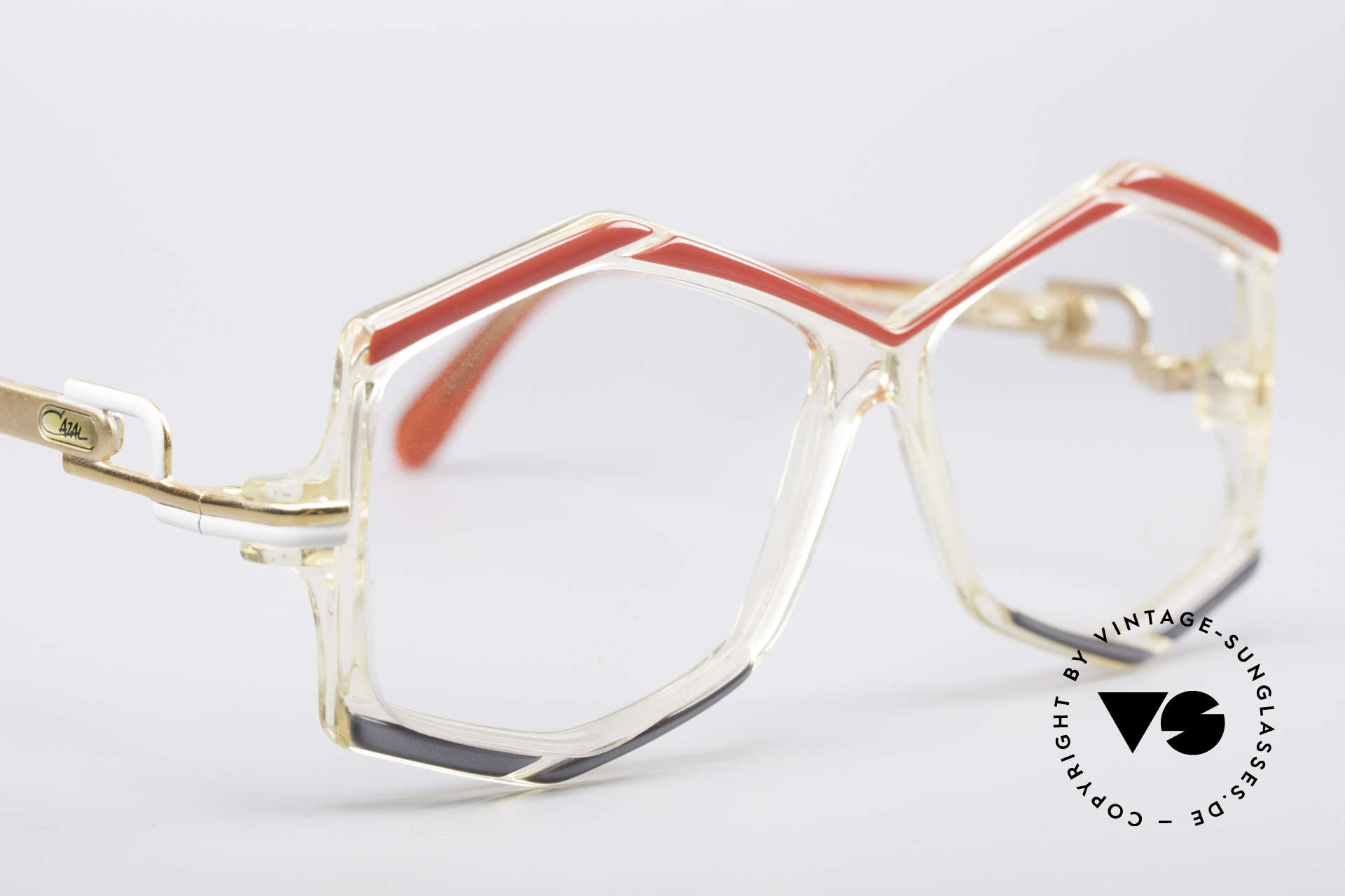 Cazal 180 80's Designer Glasses, demo lenses should be replaced with prescriptions, Made for Women