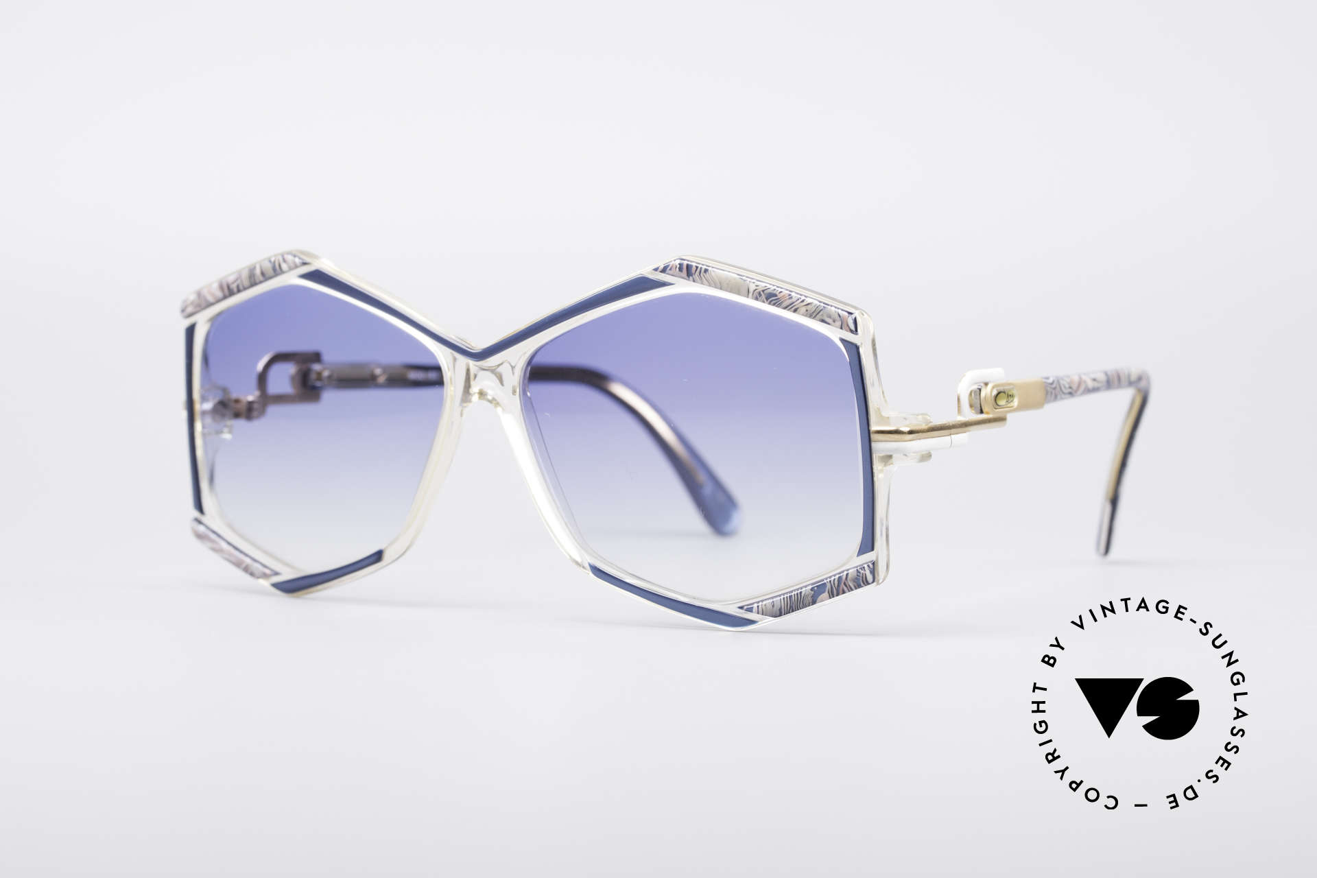 Cazal 180 80's Designer Shades, extraordinary eye-catcher (typically vintage Cazal), Made for Women