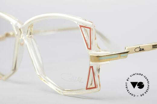 Cazal 172 Crystal Clear 80's Frame