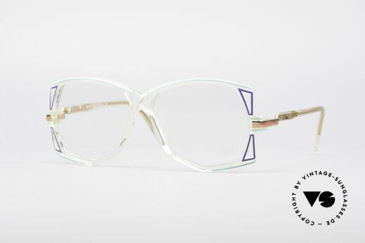 Cazal 172 Crystal Clear 80's Frame Details