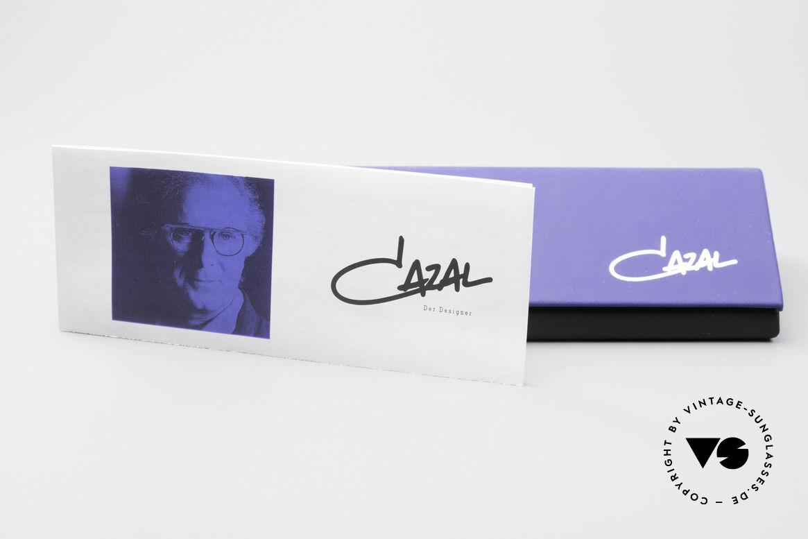 Cazal 172 Crystal Clear 80's Frame, Size: medium, Made for Women