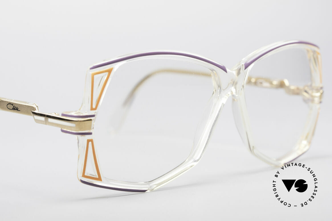 Cazal 172 Crystal Clear 80's Frame, NO RETRO FASHION, but a true original from 1987!, Made for Women