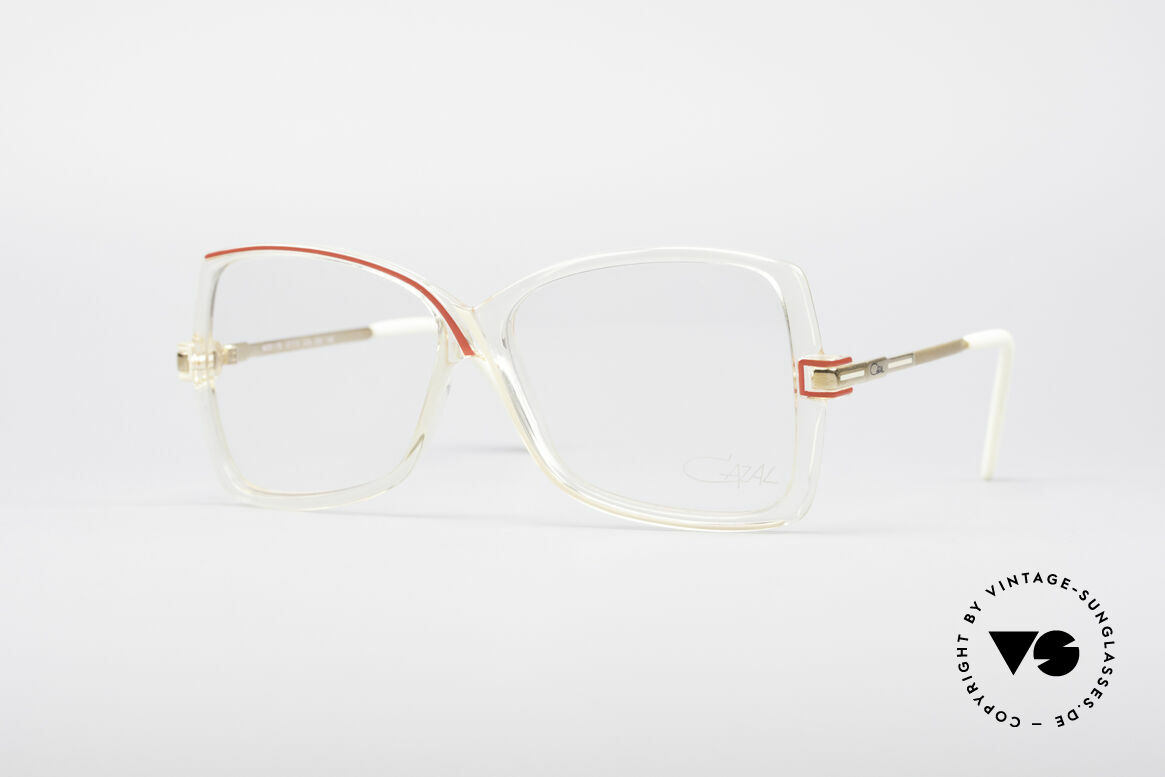 Cazal 175 True Vintage 80's Frame, true vintage eyeglasses by Cazal from the 80's, Made for Women