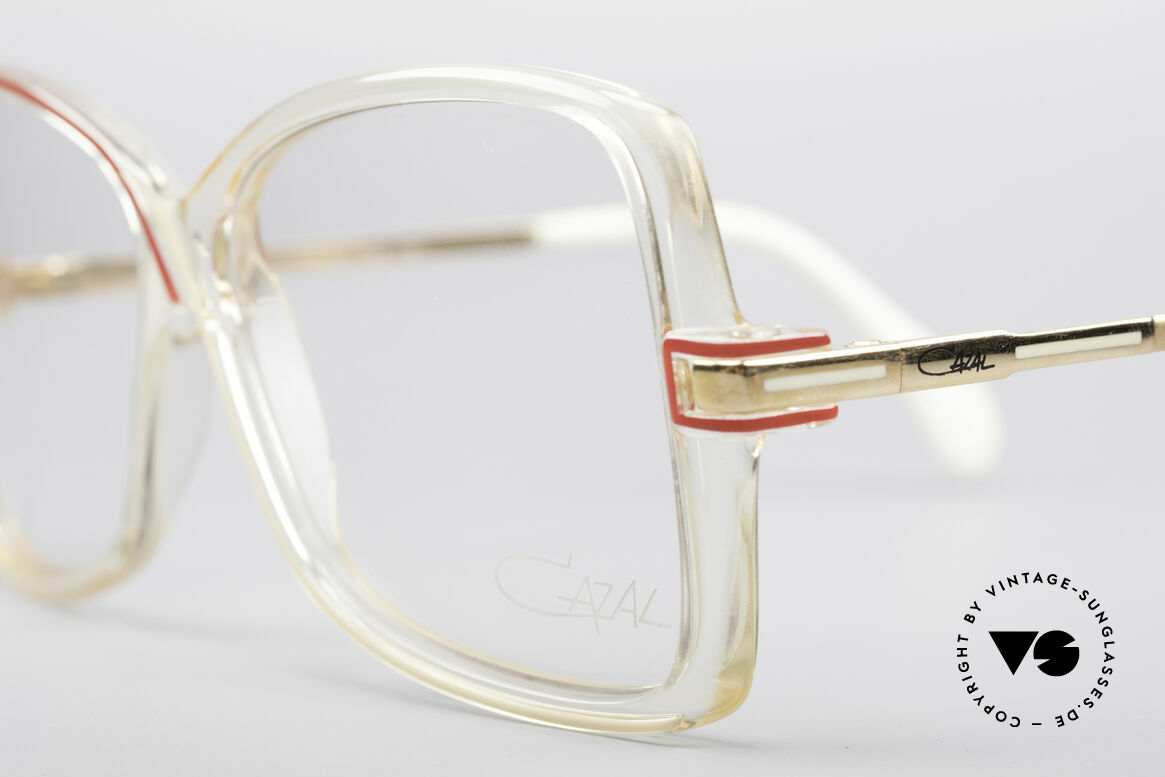 Cazal 175 True Vintage 80's Frame, unworn, NOS (like all our rare vintage eyewear), Made for Women
