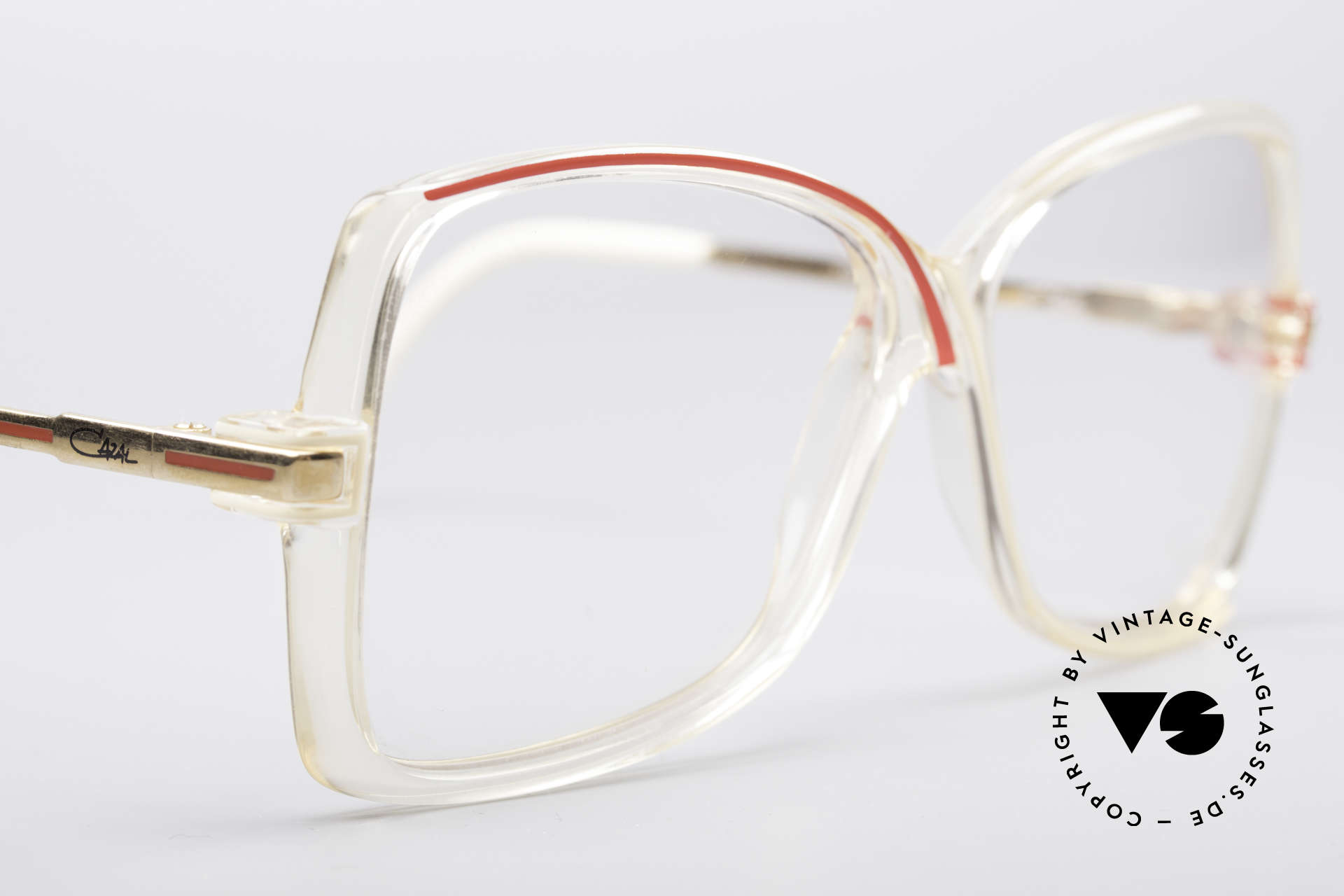 Cazal 175 True Vintage 80's Frame, NO retro fashion, but an old original from 1985, Made for Women